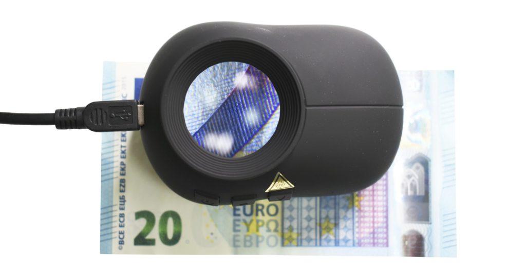 Lupa Videoespectral SC200 para el análisis de documentos