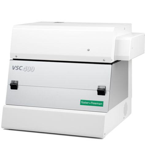 Video Espectro Comparador VSC 400 para el análisis de documentos y el análisis de firmas